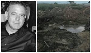 Δημήτρης Γραικός: Εδώ έθαψαν τον επιχειρηματία – Σκληρές εικόνες