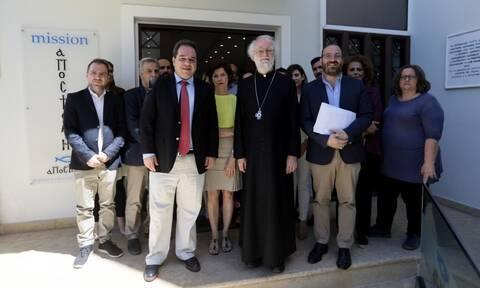 Επίσκεψη του προέδρου της ανθρωπιστικής οργάνωσης Christian Aid στην «Αποστολή»
