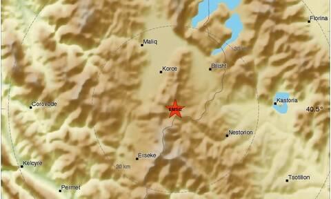 Νέα ισχυρή σεισμική δόνηση στην Καστοριά