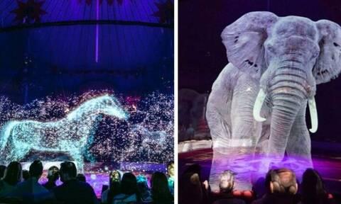 Τσίρκο στη Γερμανία χρησιμοποιεί ολογράμματα αντί για αληθινά ζώα! (photos+vid)