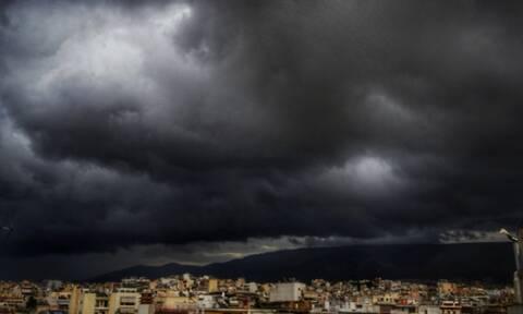 Έκτακτο δελτίο επιδείνωσης του καιρού: Έρχονται βροχές, καταιγίδες και χαλάζι