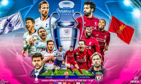 Τελικός Champions League 2019 LIVE: Η «μάχη» Τότεναμ-Λίβερπουλ για το τρόπαιο