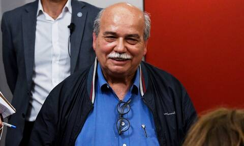 Περιφερειακές Εκλογές 2019: Ψήφισε ο πρόεδρος της Βουλής, Νίκος Βούτσης