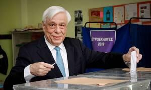 Περιφερειακές Εκλογές 2019:Στο Νέο Ψυχικό ψήφισε ο Πρ. Παυλόπουλος