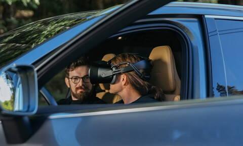 Η Volvo θα εξελίσσει νέα μοντέλα σε πραγματικό περιβάλλον με εικονικά στοιχεία
