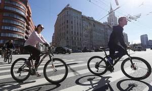 ВЦИОМ: более половины россиян недовольны условиями для езды на велосипеде