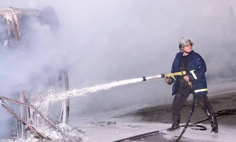 Φωτιά ΤΩΡΑ στην Αττική Οδό: Στις φλόγες φορτηγό - Ουρές χιλιομέτρων