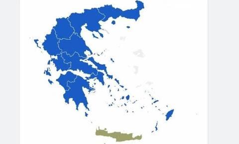 За оппозиционную партию «Новая демократия» проголосовали 12 из 13 регионов Греции
