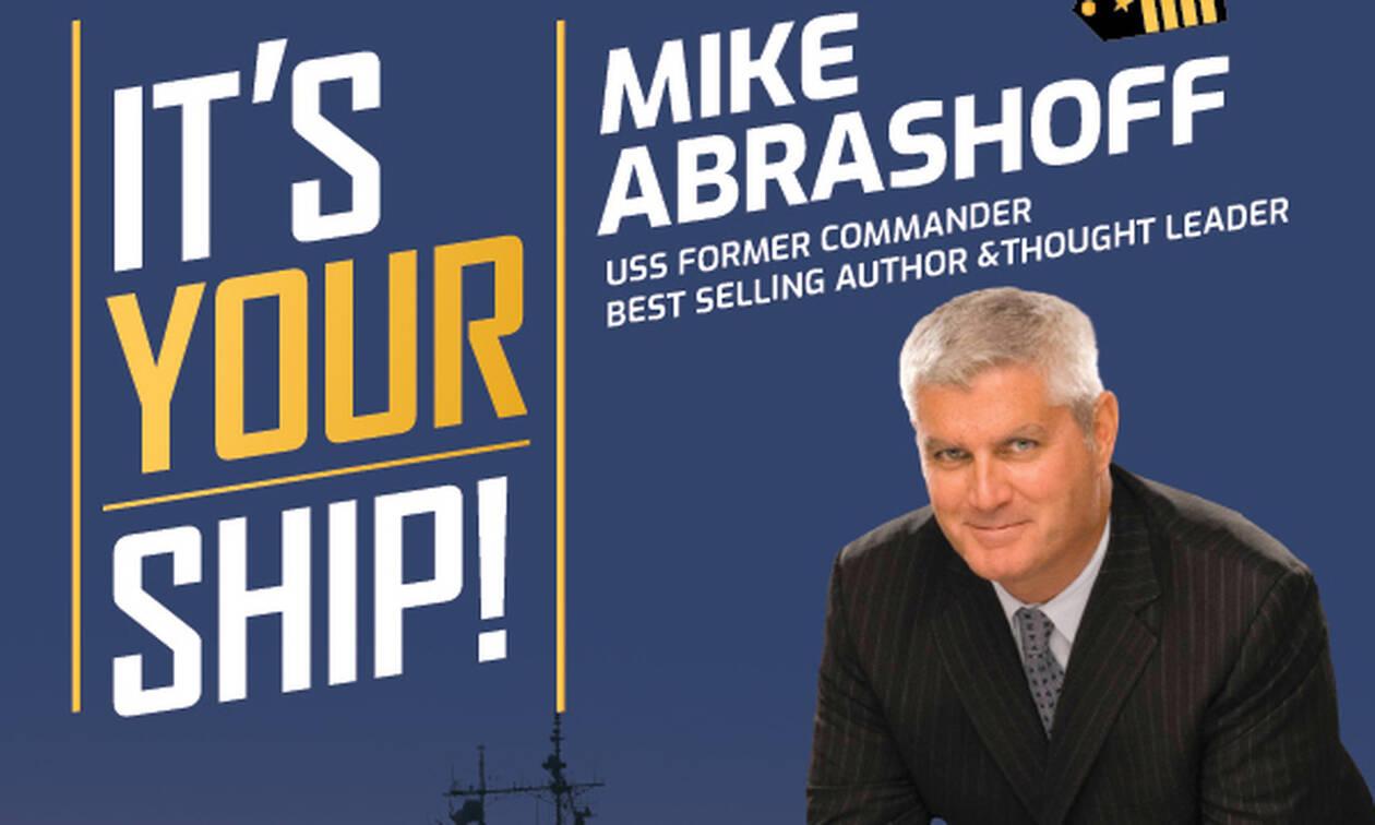 Linkage Greece: Από τον απαιτητικό Αμερικάνικο Στόλο στην Αθήνα ο Mike Abrashoff