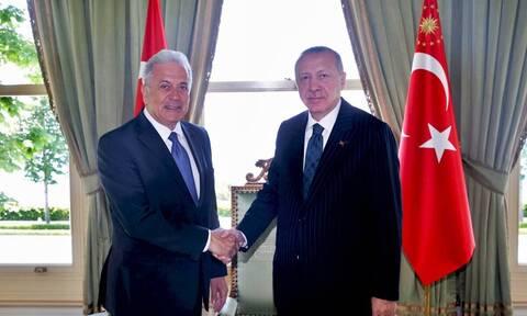 Μεταναστευτικό και ευρωτουρκικές σχέσεις στο επίκεντρο της συζήτησης Αβραμόπουλου - Ερντογάν (pics)