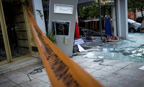Ισχυρή έκρηξη σε ΑΤΜ στην Ηλιούπολη - Μεγάλες ζημιές σε κατάστημα