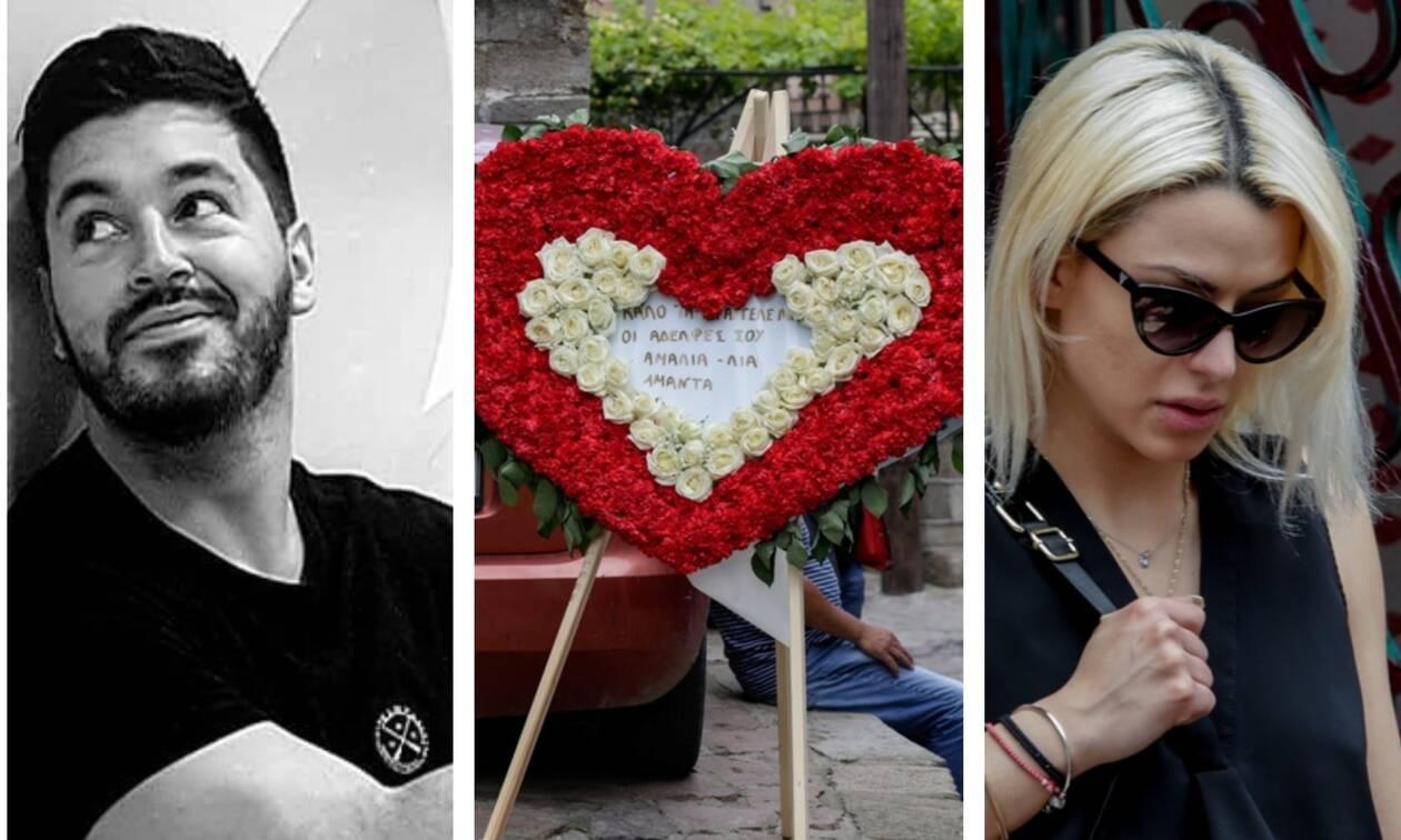 Πάνος Ζάρλας: «Ράγισαν» και οι πέτρες στην κηδεία - «Κατέρρευσε» η Μιζεράκη