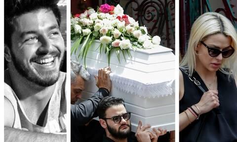 Κηδεία Πάνου Ζάρλα: H τελευταία πράξη του δράματος - Ανείπωτη η θλίψη συγγενών και φίλων