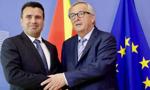 Γιούνκερ: H Συμφωνία των Πρεσπών έγινε μεταξύ κρατών και όχι κυβερνήσεων