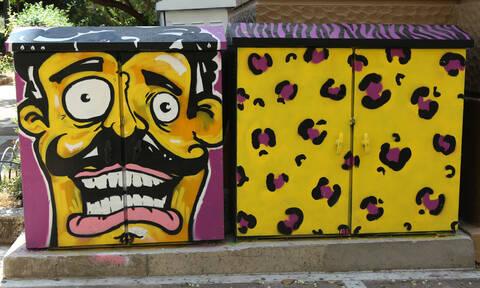 Και ξαφνικά η Αθήνα γέμισε... χρώμα - Τι συνέβη; (pics)