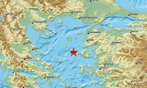 Σεισμός δυτικά της Μυτιλήνης (pics)