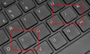 Εσύ γνώριζες γιατί το F και το J στο πληκτρολόγιο έχουν παύλα;