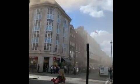 Πανικός στο Λονδίνο από μεγάλη φωτιά σε κτήριο (pics+vid)