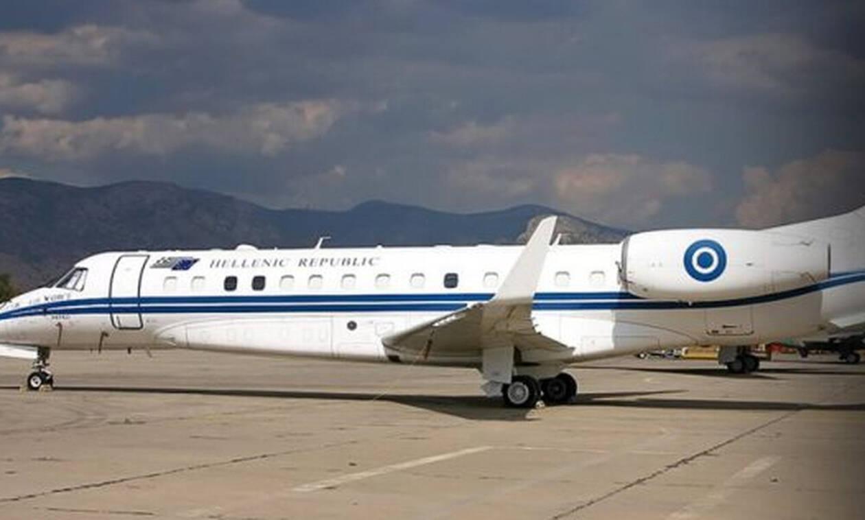 Με το πρωθυπουργικό αεροσκάφος η ελληνική αποστολή στο Μινσκ!