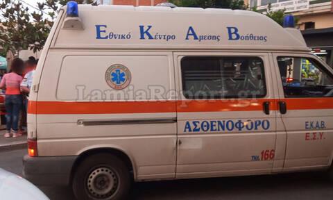 Αιματηρό περιστατικό μεταξύ φίλων στο κέντρο της Λαμίας: Του άνοιξε το κεφάλι με ποτήρι (pics)