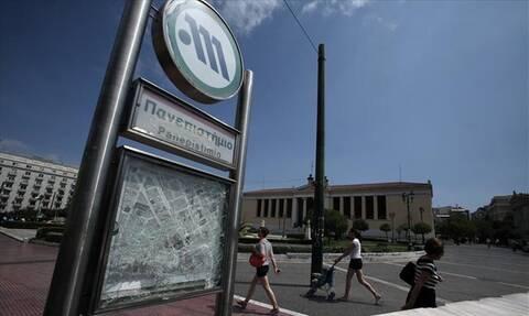 ΣΟΚ στο Μετρό «Πανεπιστήμιο»: Η εικόνα που προκάλεσε οργή