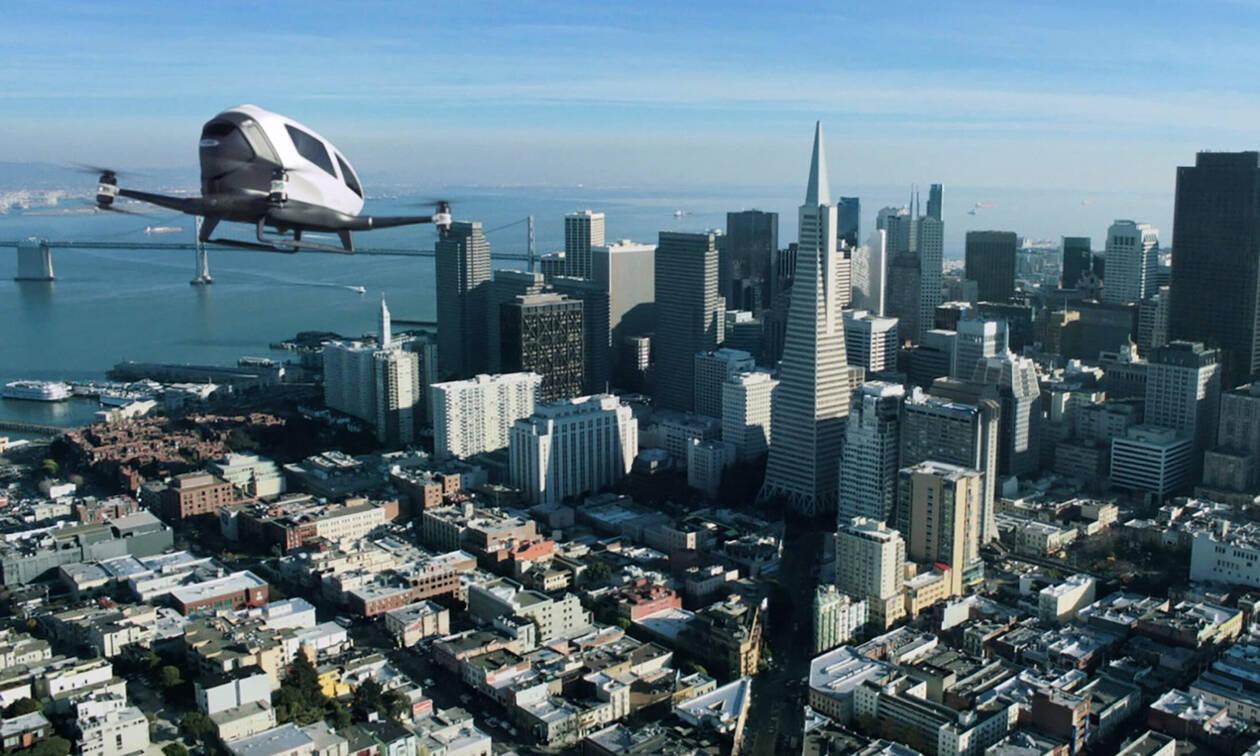 Έρχονται τα ιπτάμενα ταξί - Έτοιμα να απογειωθούν τα Robotaxis
