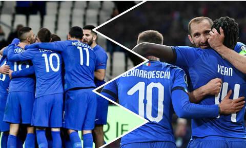 Live: Ελλάδα-Ιταλία 0-3