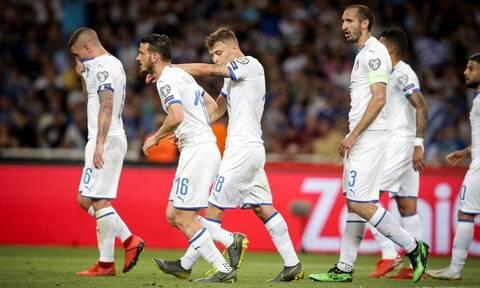 Ελλάδα-Ιταλία 0-3: Δείτε τα γκόλ της «Σκουάvτρα Ατζούρα»
