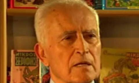 Πέθανε ο συγγραφέας και δημοσιογράφος Πότης Στρατίκης