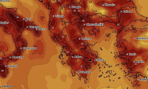 Καιρός: Στον ορίζοντα τα πρώτα... 40άρια! Καρέ - καρέ η νέα άνοδος θερμοκρασίας (photos)