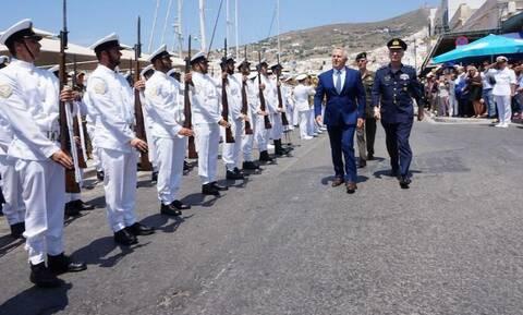 Αποστολάκης: Συνεχής η ένταση στο Ανατολικό Αιγαίο