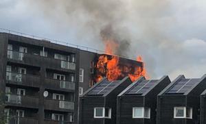 Φωτιά σε συγκρότημα διαμερισμάτων στο Λονδίνο - Οι πρώτες εικόνες (pics)