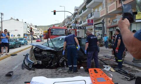 Στιγμές απόλυτου τρόμου στο Ναύπλιο: Σοβαρό τροχαίο με καραμπόλα τεσσάρων οχημάτων