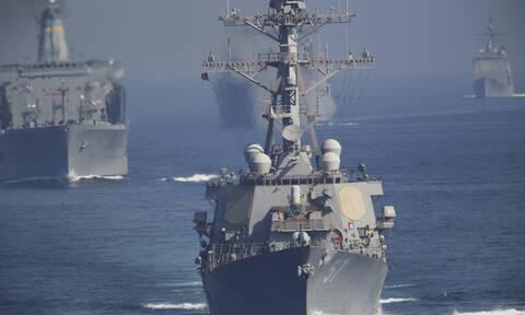 Τελεσίγραφο των ΗΠΑ σε Τουρκία: Έχουμε στην περιοχή 10 πλοία, 130 αεροπλάνα και 9.000 στρατιώτες