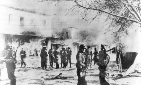 Σαν σήμερα το 1944 οι Ναζί κατακτητές καταστρέφουν το Δίστομο