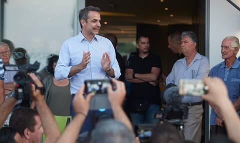 Μητσοτάκης από Κω: Ο λαός επέβαλε στον Τσίπρα να ζητήσει τη διάλυση της Βουλής (vids)