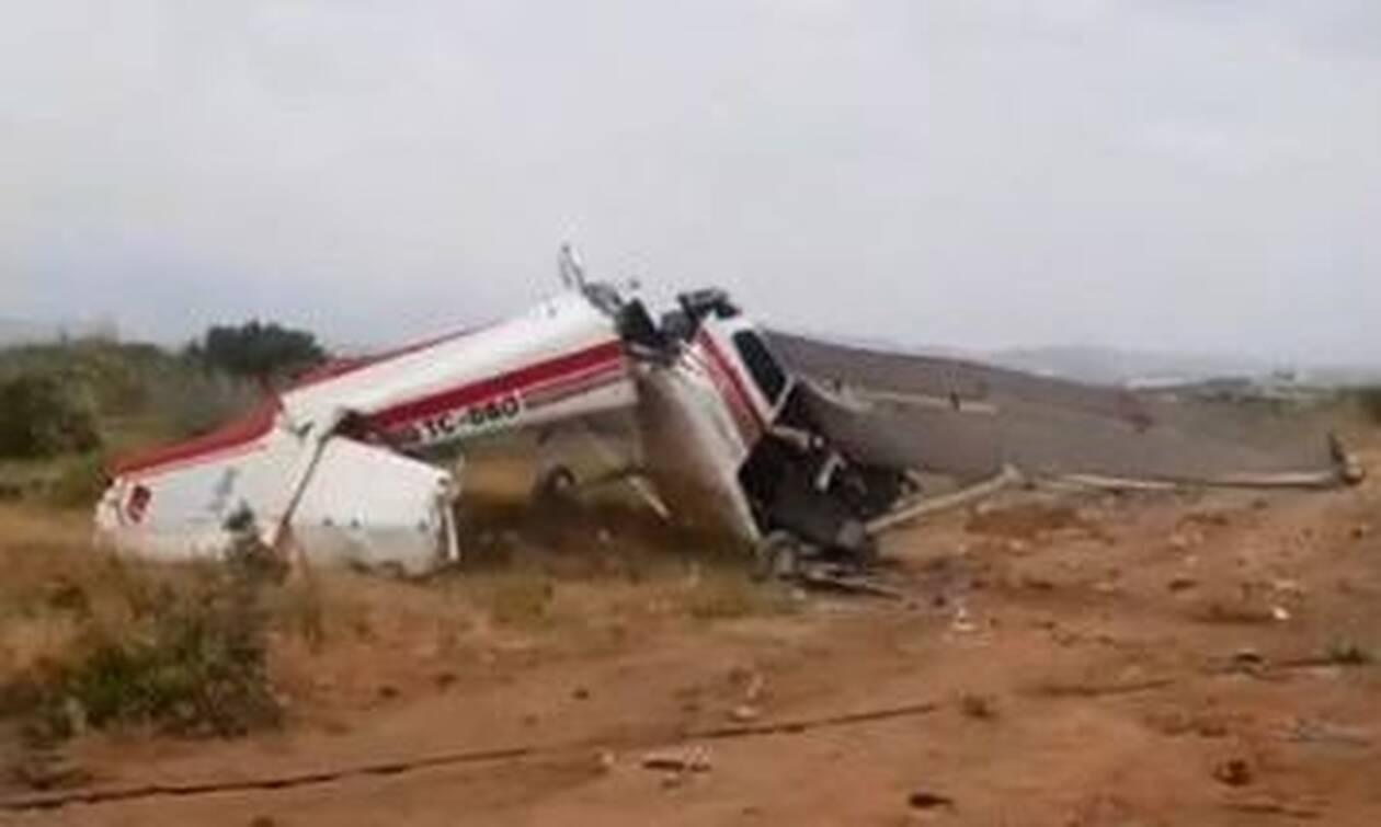 Συνετρίβη αεροσκάφος στην Αττάλεια - Δύο νεκροί και ένας τραυματίας (pics+vid)