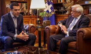 Τσίπρας σε Παυλόπουλο: Ζητώ διάλυση της Βουλής και εθνικές εκλογές (vid)
