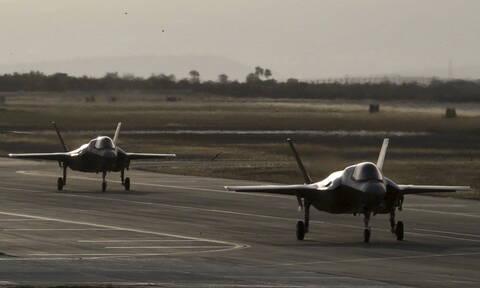 ΗΠΑ: Οι Tούρκοι πιλότοι των F-35 δεν εκτελούν πλέον εκπαιδευτικές πτήσεις