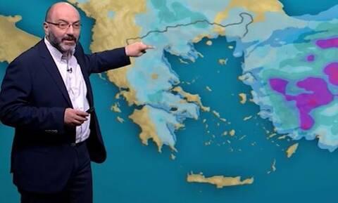 Καιρός: Προσοχή σήμερα στις καταιγίδες, έρχονται... θερμές «γλώσσες» από την Αφρική (video)