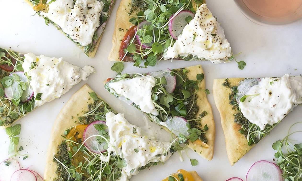 Φτιάξε την πιο νόστιμη pizza burrata