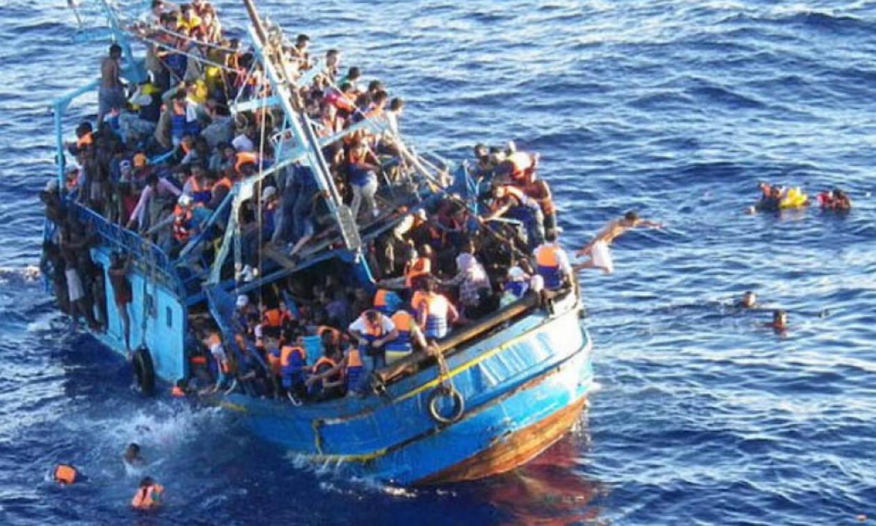 У берегов Лесбоса затонула лодка с мигрантами