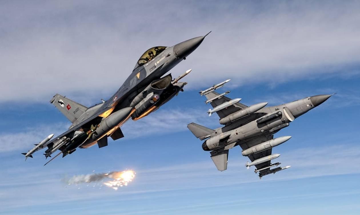 «Πόλεμος» στο Αιγαίο: 18 παραβάσεις και 99 παραβιάσεις από τουρκικά αεροσκάφη (vid)