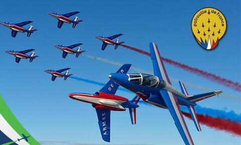 Η Patrouille de France στην Αθήνα για το Athens Flying Week