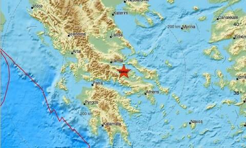 Σεισμός ΤΩΡΑ στην Αταλάντη - Αισθητός και στην Αθήνα (pics)
