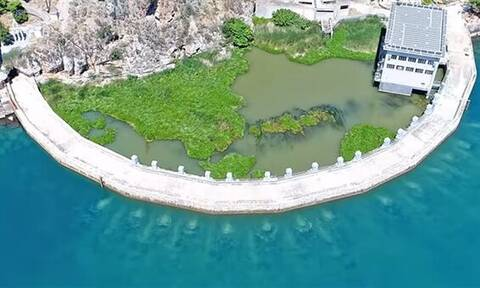 Πτήση πάνω από την Δίνη:Τα νερά που θα έσωζαν την Αθήνα από λειψυδρία
