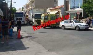 Τραγωδία στο Κιάτο: Φορτηγό παρέσυρε και σκότωσε γυναίκα