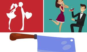 Με ποιο ζώδιο θα έβγαινες ραντεβού; Με ποιο θα παντρευόσουν και ποιο… θα σκότωνες;