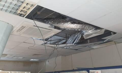 Κύπρος: Κατέρρευσε μέρος της οροφής στο Κέντρου ελέγχου Πτήσεων - Ένας τραυματίας