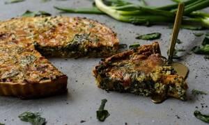 Η συνταγή της ημέρας: Quiche με σπανάκι